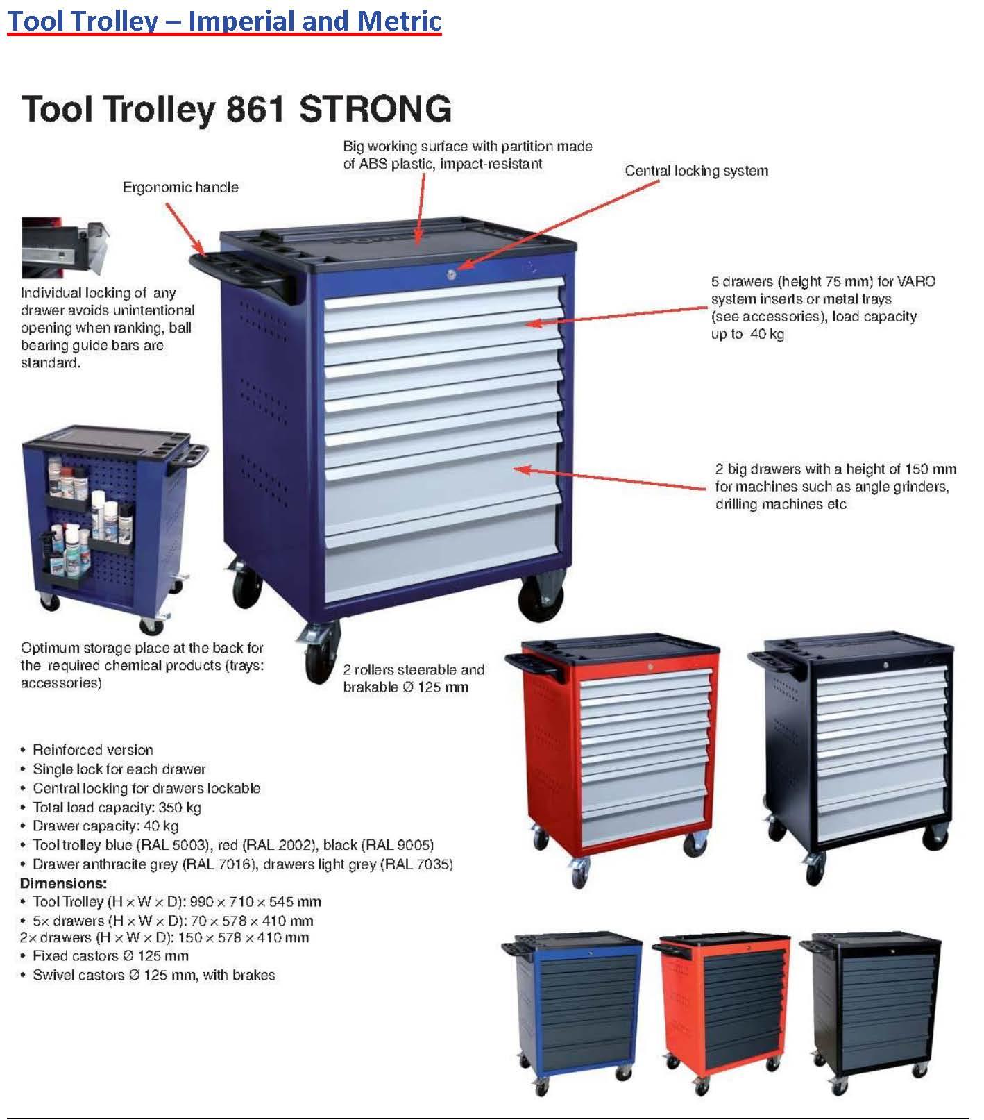 Tool Trolleys (3)